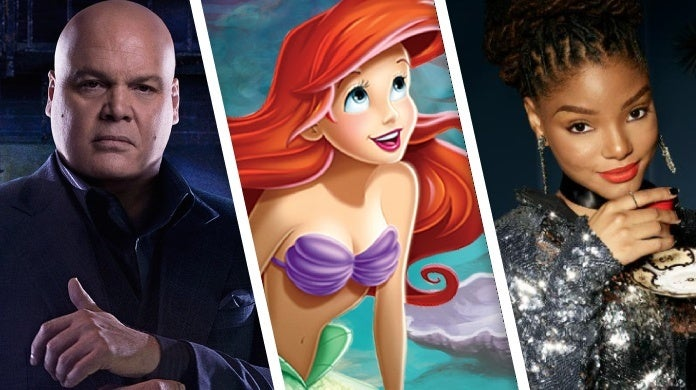 the little mermaid halle bailey vincent donofrio