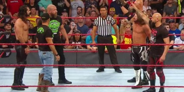 D-Generation X and The NWO Brawl With The O.C. During WWE Raw Reunion