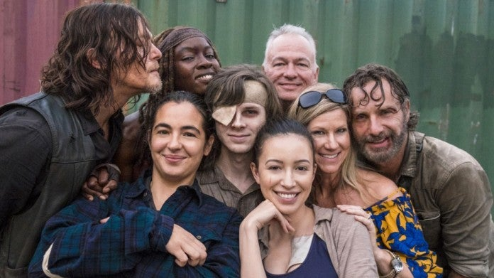 The Walking Dead BTS Riggs