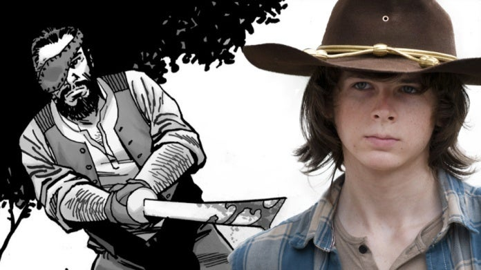 The Walking Dead Carl Grimes comicbookcom