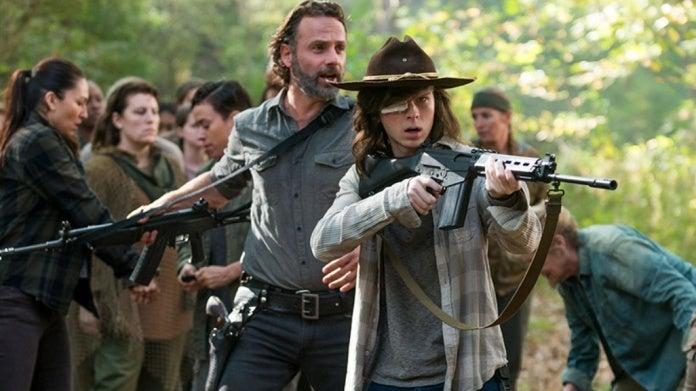 The Walking Dead Chandler Riggs Carl
