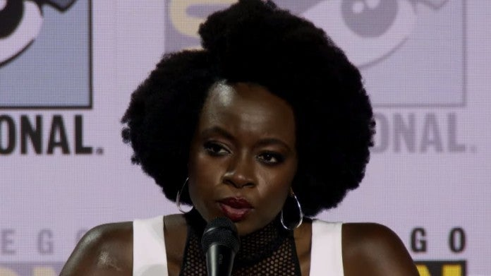 The Walking Dead Danai Gurira SDCC