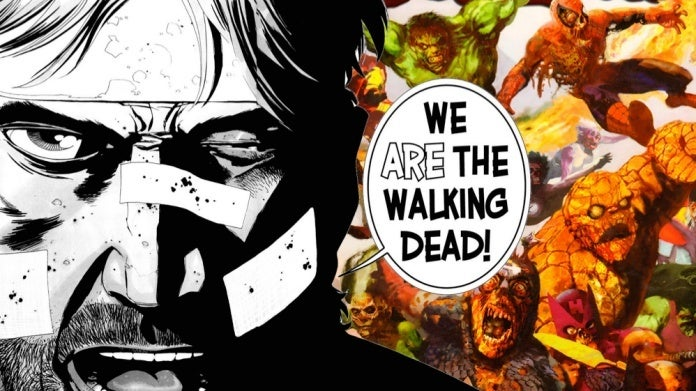The Walking Dead Marvel Zombies comicbookcom