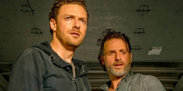 The Walking Dead Rick Aaron Andrew Lincoln Ross Marquand
