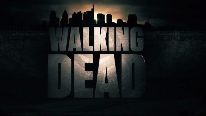 The Walking Dead Rick Grimes movie logo
