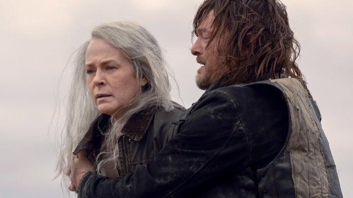 The Walking Dead season 9 pikes