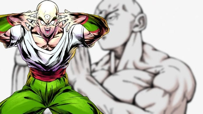 Tien-One-Punch-Man-Art