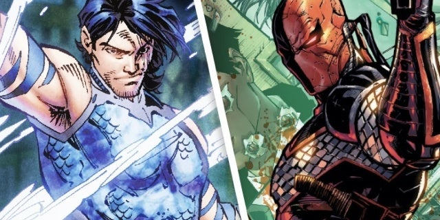 Titans Season 2 Reveals First Look at Aqualad and Deathstroke