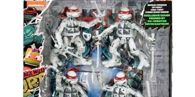 Teenage Mutant Ninja Turtles 35th Anniversary 4-Figure Pack is Available Now