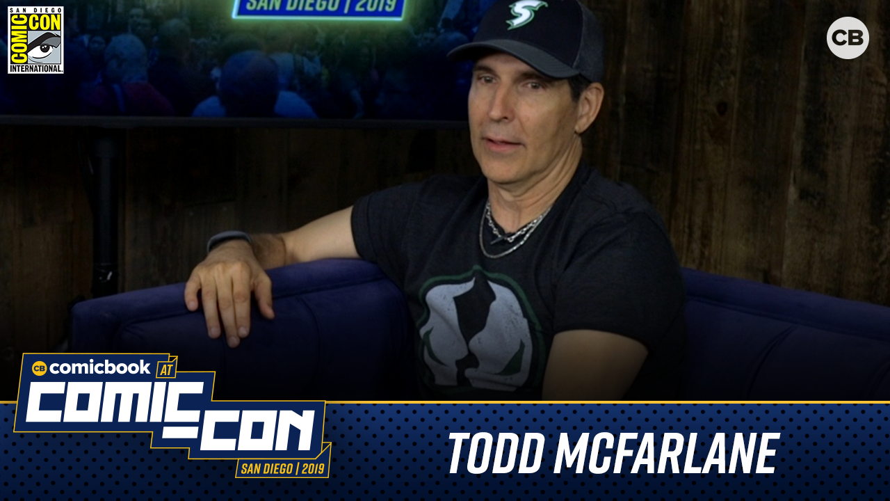 Todd McFarlane Talks SPAWN - San Diego Comic-Con 2019 Interview screen capture