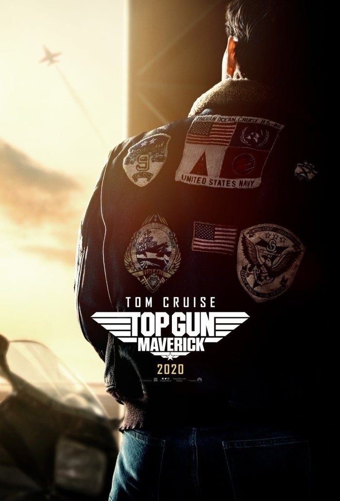 Top Gun Maverick Poster Official