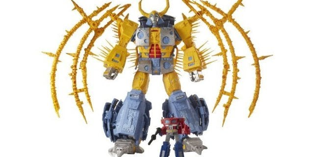 Largest Transformer Figure Ever Revealed as Transformers: War for Cybertron Unicron