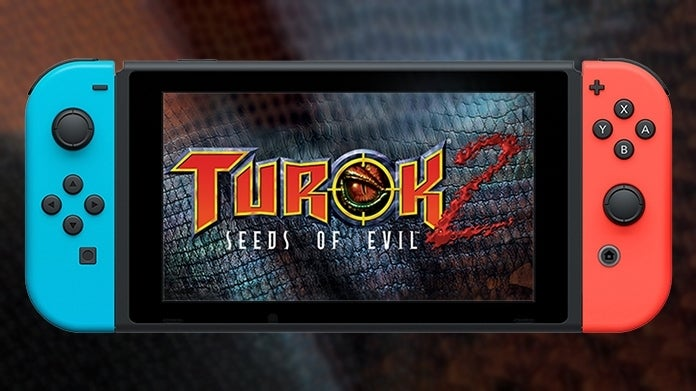Turok 2 Seeds of Evil Nintendo Switch Release Date