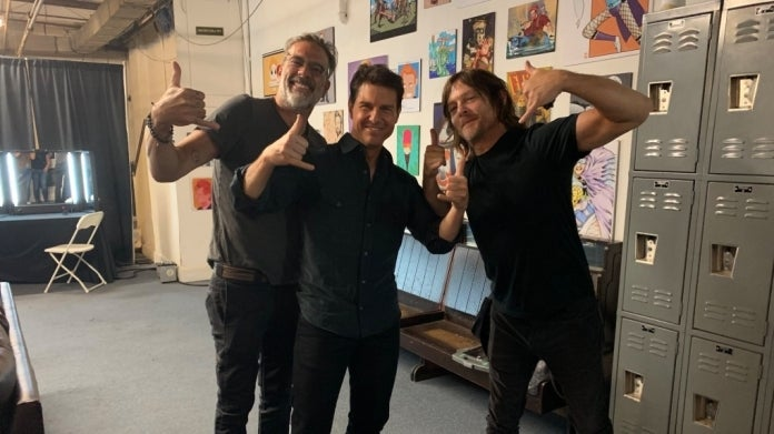 TWD Jeffrey Dean Morgan Norman Reedus Tom Cruise