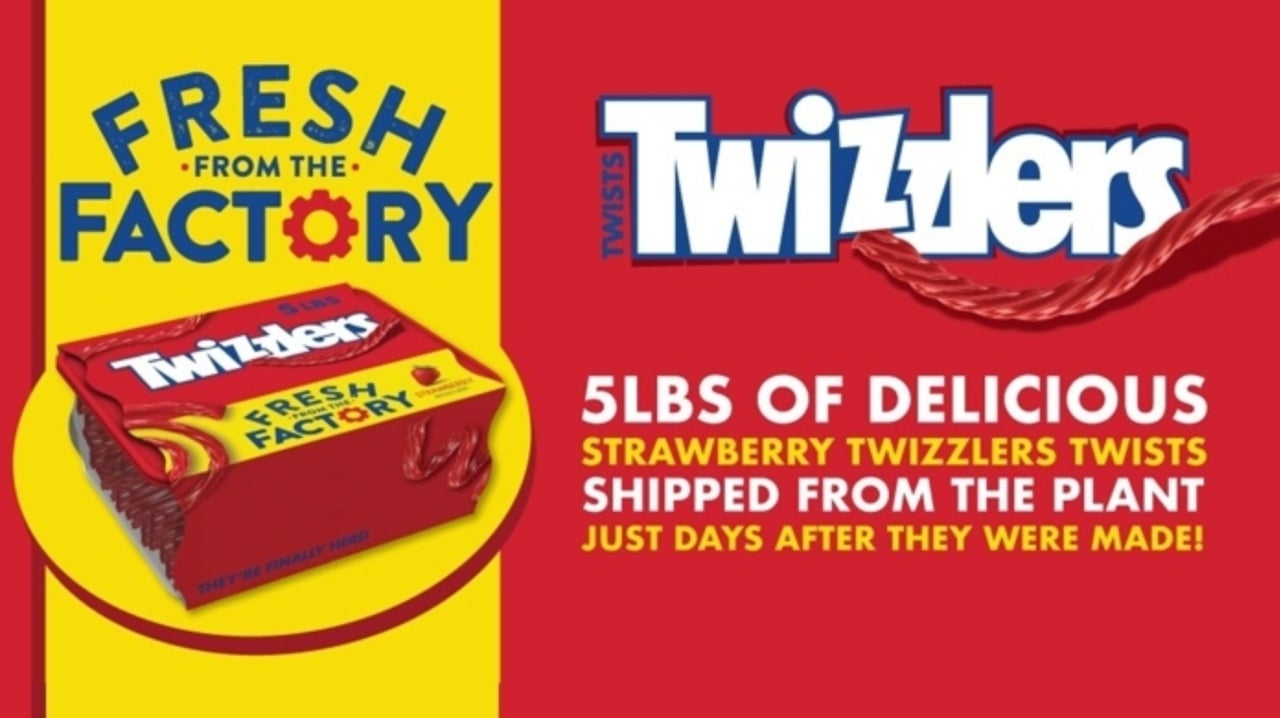 You Can Now Order Five Pounds of Twizzlers, Just in Case You