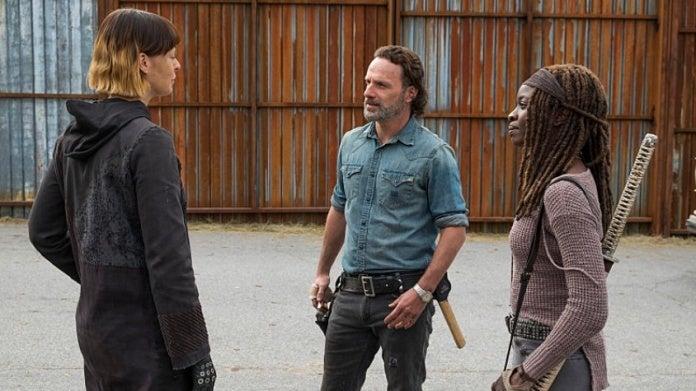 Walking Dead Rick Michonne Jadis