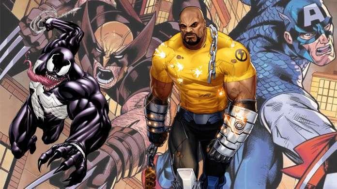 Weapon Plus Venom Luke Cage Wolverine Captain America