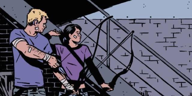 Who is Kate Bishop Hawkeye - Cover
