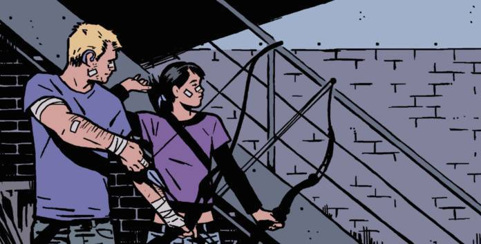 Who is Kate Bishop Hawkeye - Cover