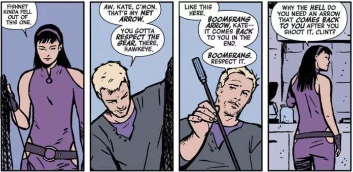 Who is Kate Bishop Hawkeye - Matt Fraction David Aja