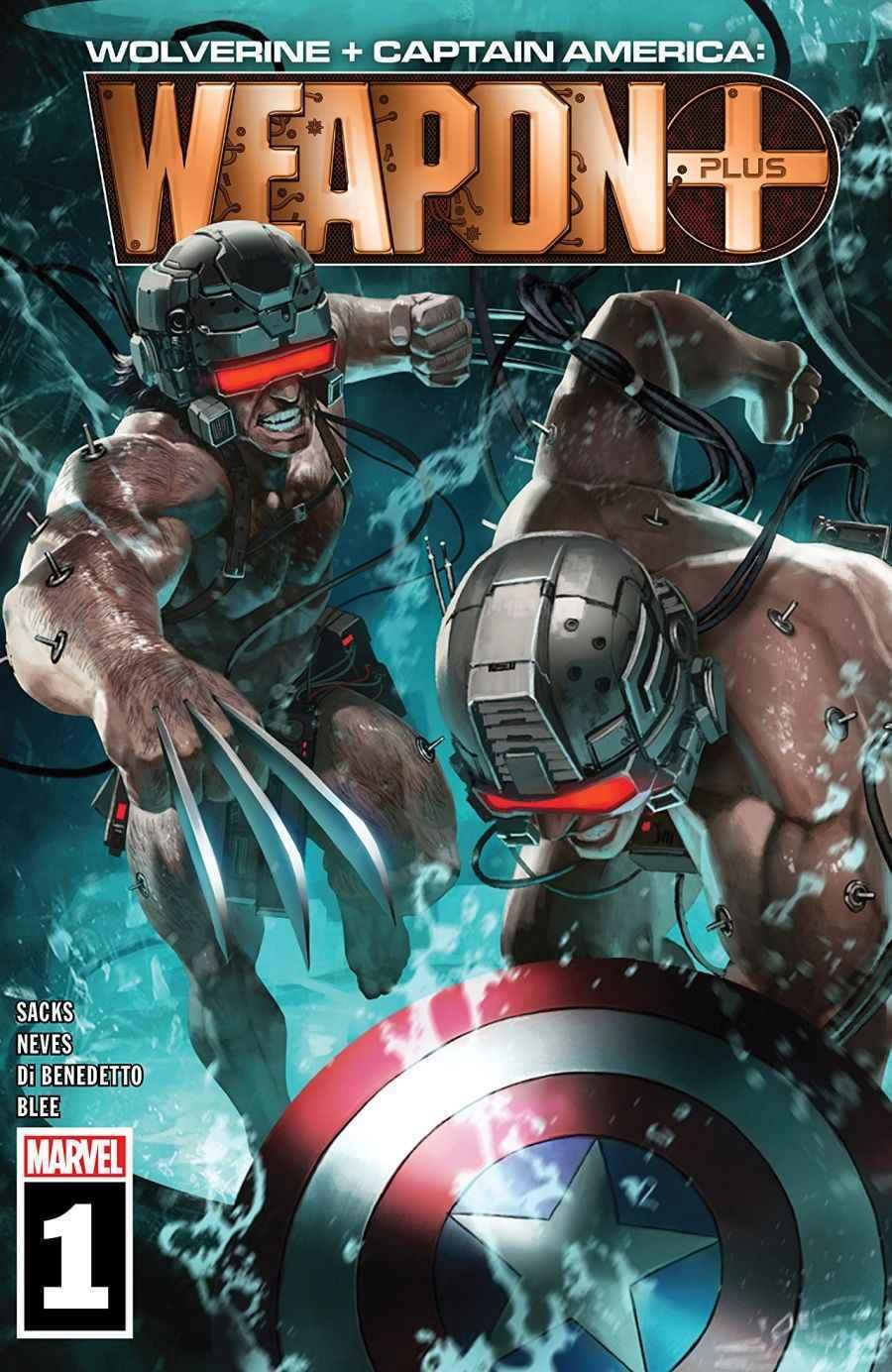 Wolverine & Captain America Weapon Plus #1