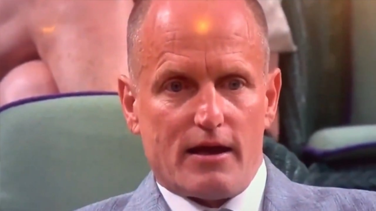 Woody Harrelson at Wimbledon Is a Meme Goldmine