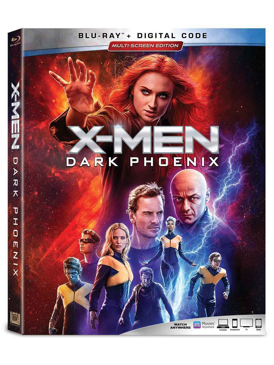 X-Men Dark Phoenix Blu-ray