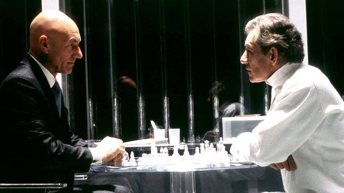 Xavier and Magneto - Chess