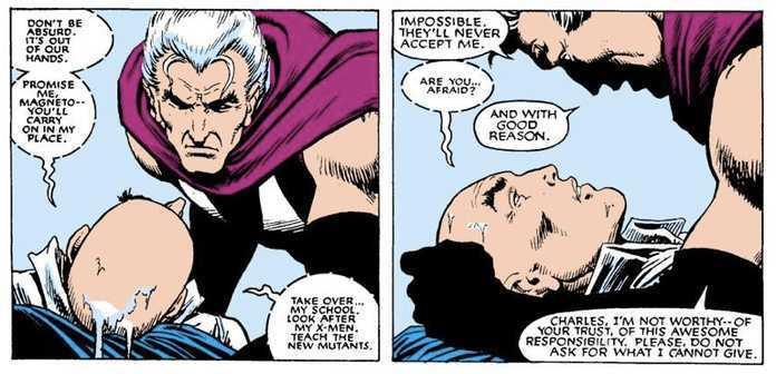 Xavier and Magneto - New Mutants
