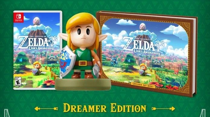 The Legend Of Zelda Link S Awakening Dreamer Edition And