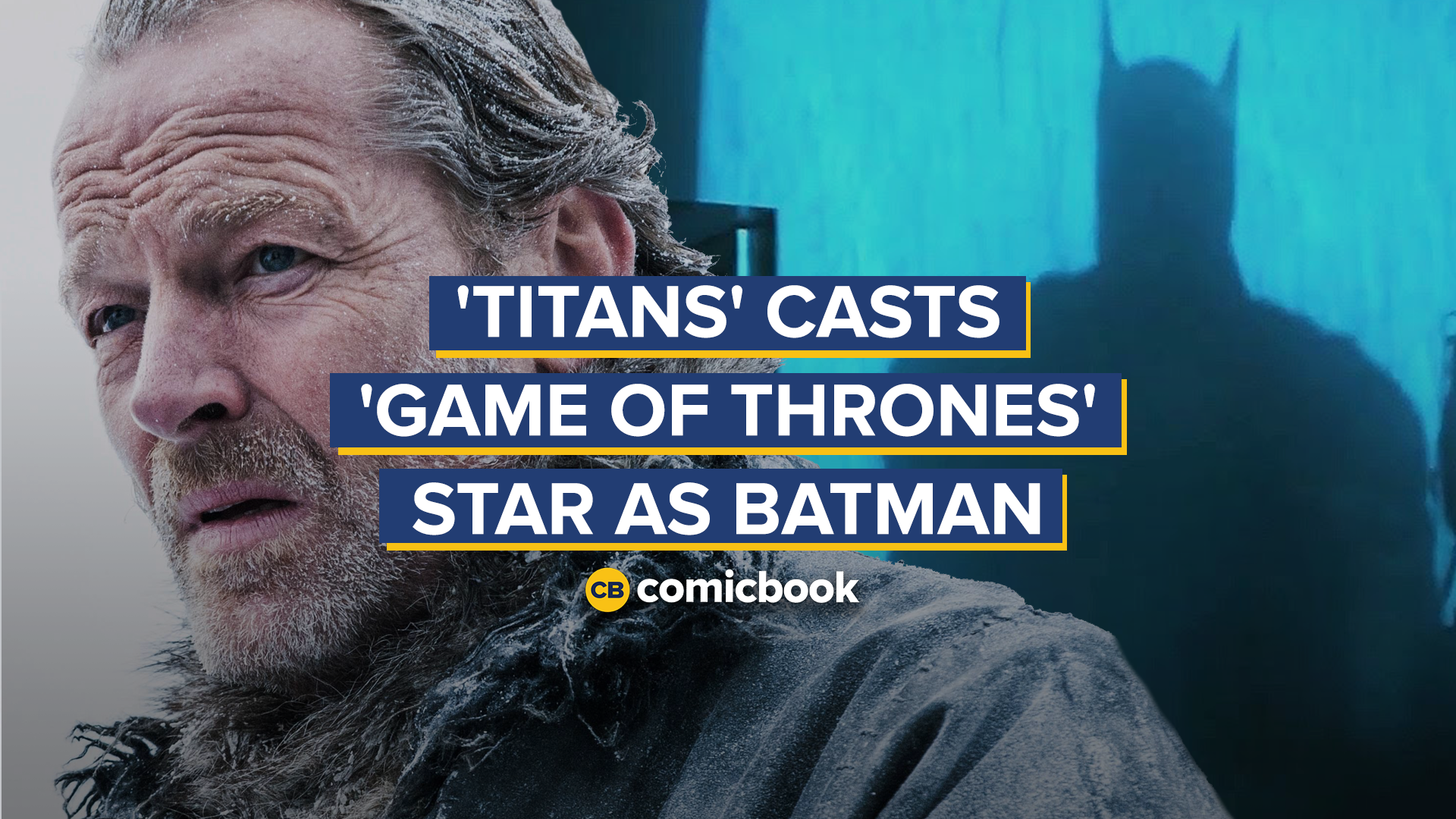 'Titans' Casts 'Game of Thrones' Star as Batman Ahead of Season 2 screen capture
