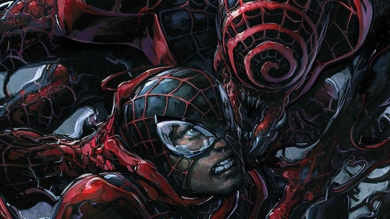Spider-Man Writer Reveals Horrifying Look at Symbiote-Infected Miles Morales