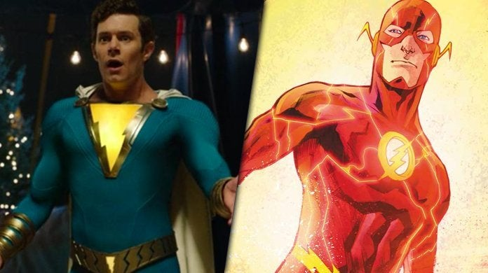 adam brody shazam the flash justice league mortal