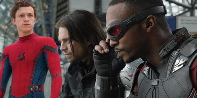Anthony Mackie and Sebastian Stan Hilariously Address Tom Holland Sony Situation