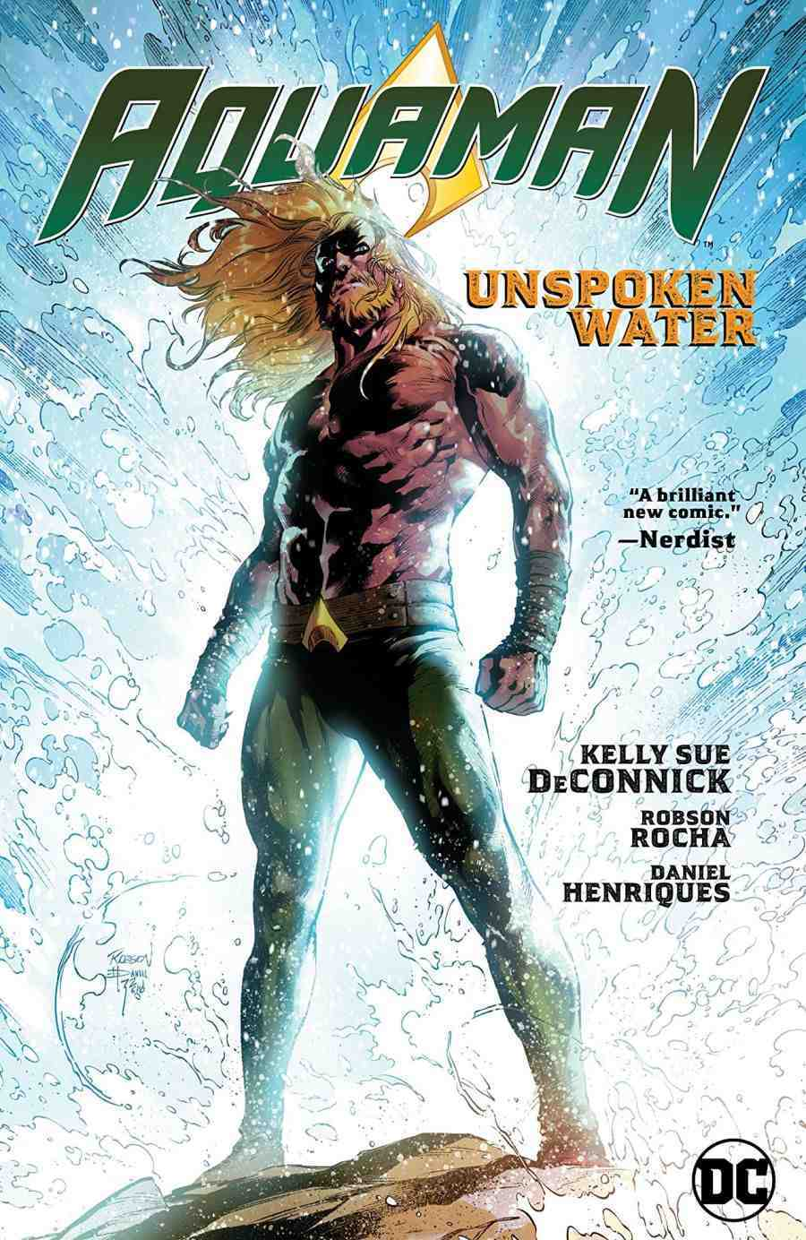 Aquaman Vol 1 Unspoken Water