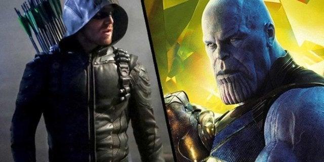 Arrow Thanos Stephen Amell