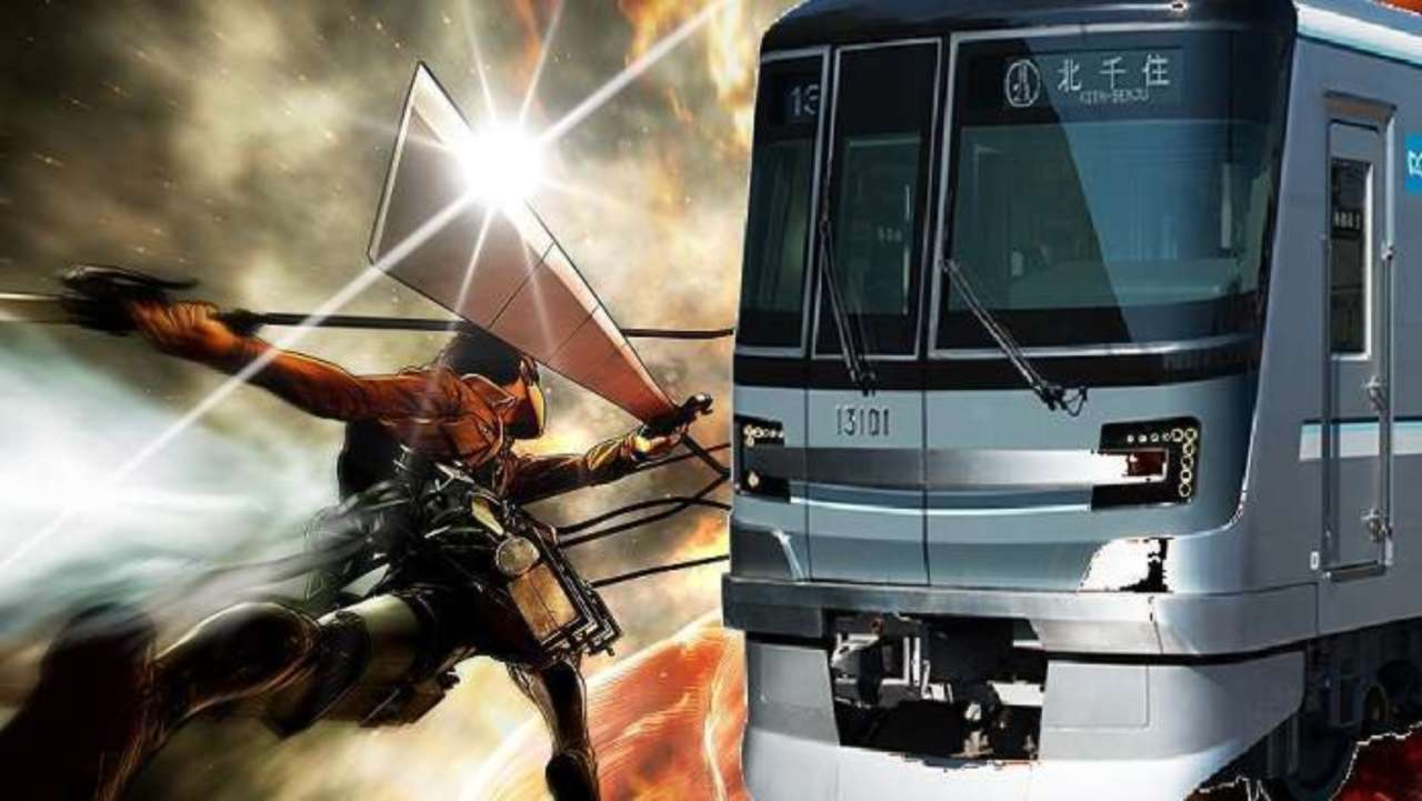 Japan Unveils Official Attack On Titan Subway Signs