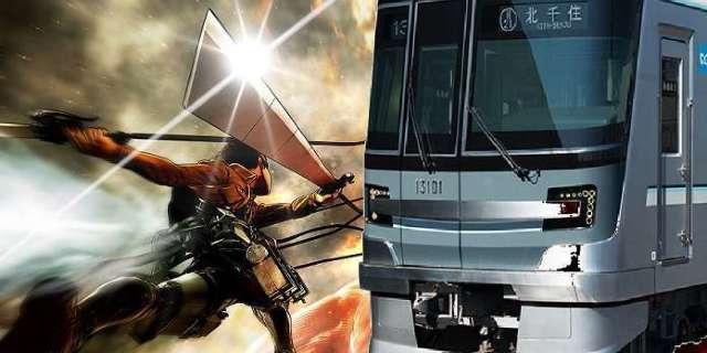Attack On Titan Train