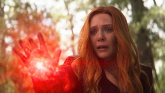 Avengers Elizabeth Olsen Scarlet Witch