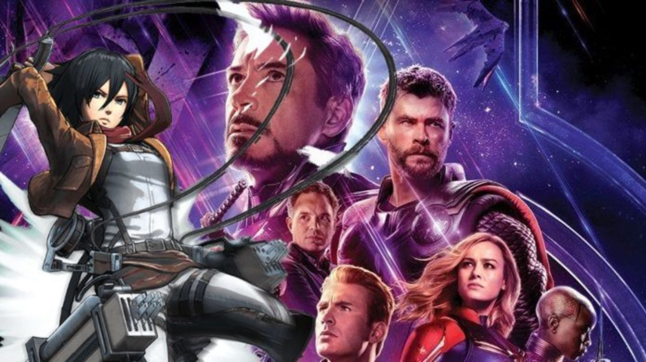 Avengers: Endgame Gets Powerful Attack on Titan Opening