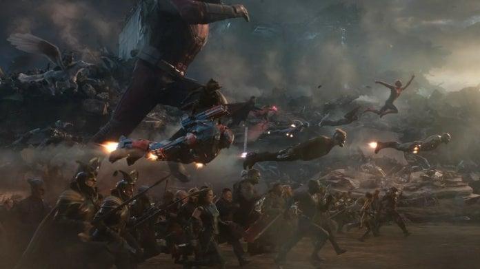 Avengers Endgame battle