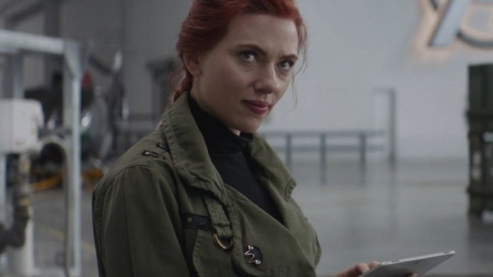 Avengers Endgame Black Widow