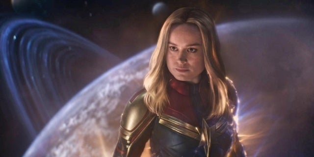 The Particular Issue Captain Marvel Posed for the Avengers: Endgame Writers