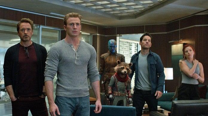 Avengers Endgame group shot