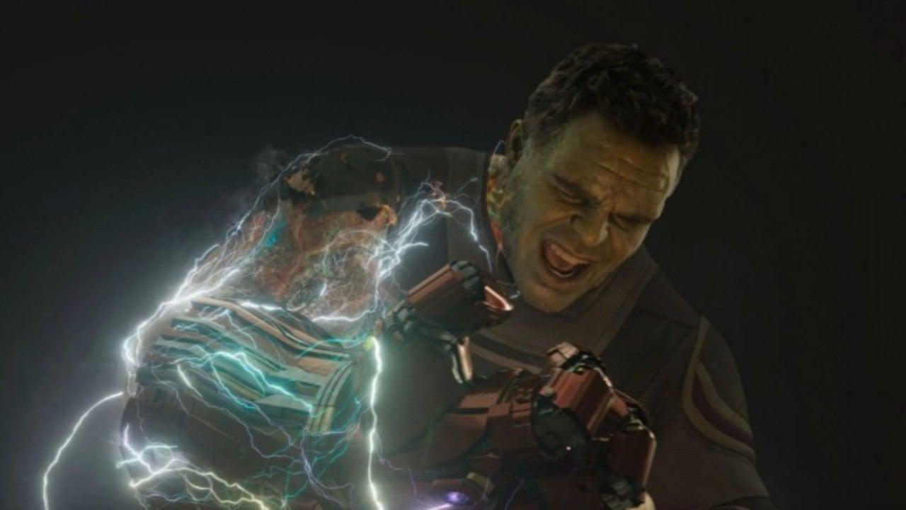 Avengers: Endgame Art Shows Different Look for Smart Hulk's Damaged Arm
