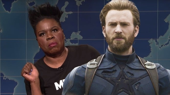 avengers endgame leslie jones snl captain america