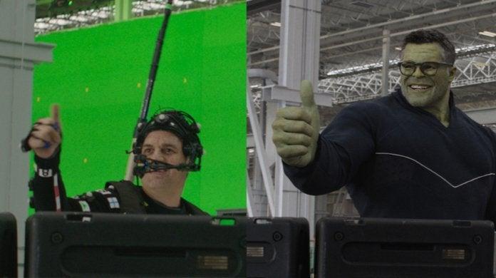 Avengers Endgame Mark Ruffalo Smart Hulk Motion Capture Suit