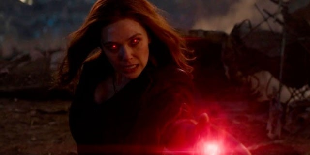 Avengers Endgame Scarlet Witch
