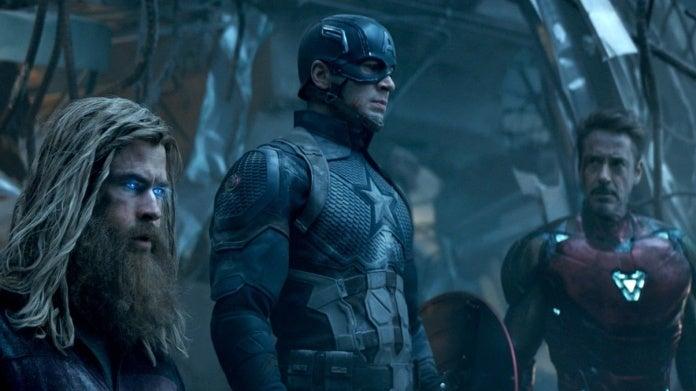Avengers Endgame Steve Tony Thor