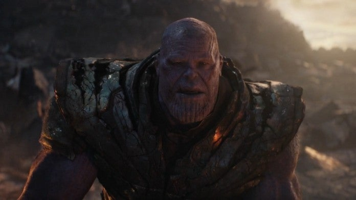 Avengers Endgame Thanos death